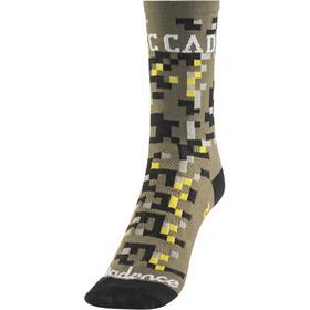 DeFeet Aireator Cadence Collection Socken Digital Camo Grün